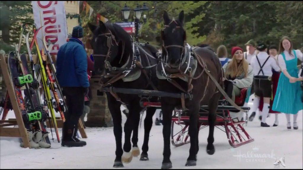 """Schuhplattler Verein Enzian in """"Winter In Vail"""" Hallmark movie"""